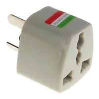 UNIVERSAL TO AU AC POWER PLUG ADAPTER TRAVEL 3 PIN