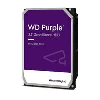 "WD30PURZ- WD 3.5"" PURPLE, 3TB, INTELLIPOWER, 64MB,SATA III, (6Gbps), 3YRS HDD Purple Surveillance Storage"
