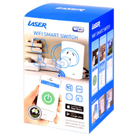 Laser WiFi Smart Home Power Switch Wireless Controller Plug