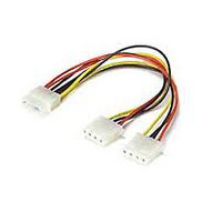 4 PIN MOLEX(M) POWER SPLITTER