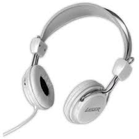 HEADPHONES STEREO KIDS FRIENDLY WHITE COLOUR