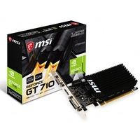 MSI GT710 2GB Low Profile graphics card- HDMI D-Sub DL-DVI-D