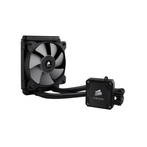 CORSAIR COOLING HYDRO SERIES H60 HIGH-PERFORMANCE CPU COOLER, 1X 120MM COOLING FAN, INTEL LGA 2011/1366/1156/1155/AND AM3/AM2 COMPATIBLE
