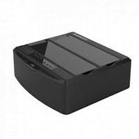 "SIMPLECOM SD312 2.5""/3.5"" DUAL BAY USB3.0 HDD DOCK – BLACK"