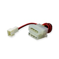 3-PIN FAN(F) TO 4-PIN MOLEX (WITH SPLITTER) ADAPTER CABLE