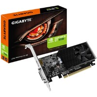 GIGABYTE GEFORCE GT 1030 SILENT LOW PROFILE (BASE: 1252MHZ, BOOST: 1506MHZ), 2GB GDDR5 (6008MHZ), PCI-E 3.0, DVI, HDMI, INCLUDE LOW PROFILE BRACKET